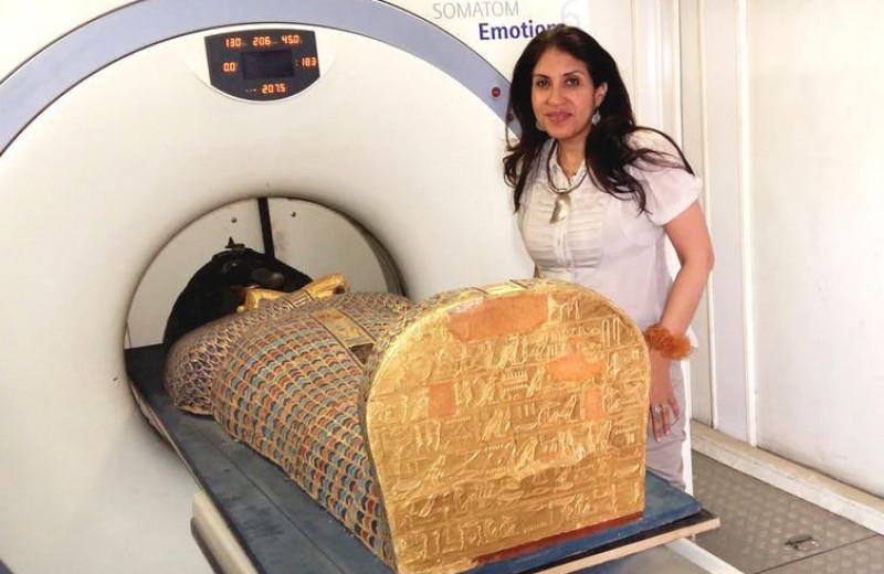 Компьютерная томография подробно рассказала о кровавом убийстве египетского фараона
