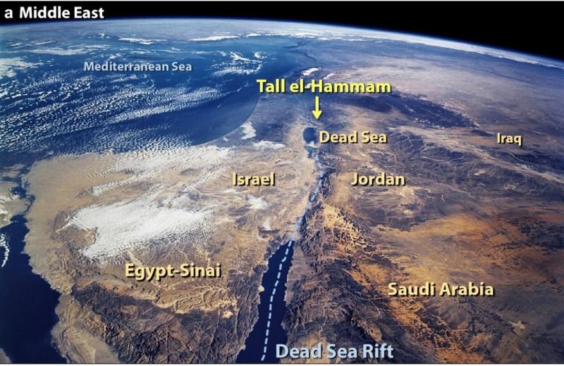 Исследование: 3,5тысячи лет назад взрыв метеорита уничтожил два крупных города на Ближнем Востоке