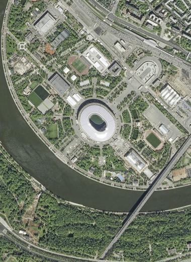 Стадионы Чемпионата мира: вид с высоты птичьего полета