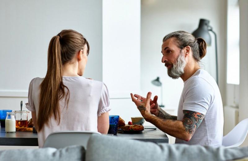 В счастливых отношениях всегда есть место для разногласий