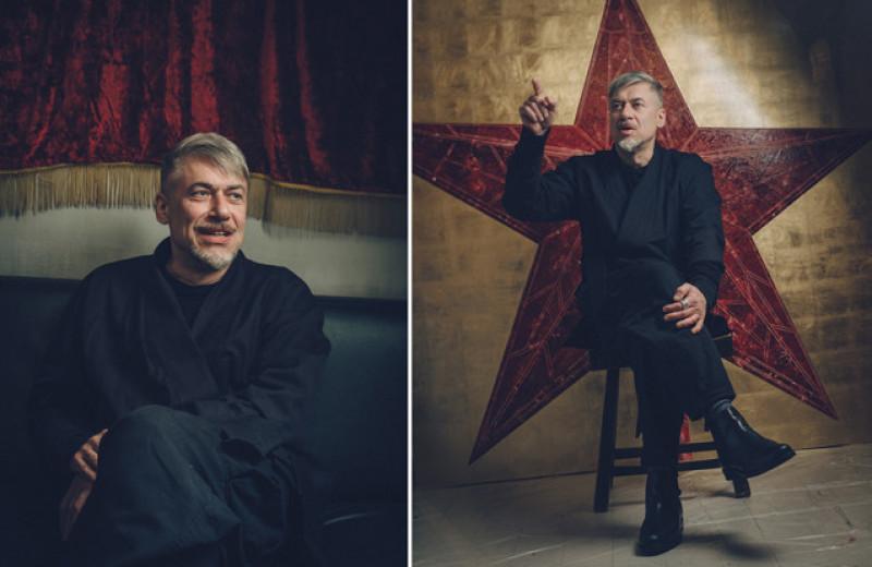 Беседа с художником Алексеем Беляевым-Гинтовтом о его нерукопожатности, евразийстве и участии в войне в Донбассе