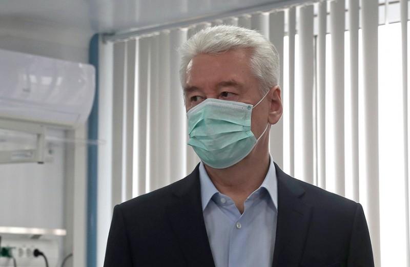 Собянин прекратил работу большинства организаций и ввел пропуска в Москве