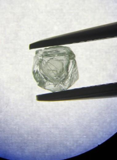 В Якутии нашли уникальный алмаз-матрешку