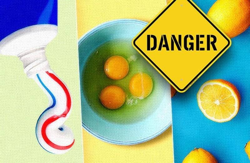 Не делай так: 10 опасных бьюти-советов из Сети