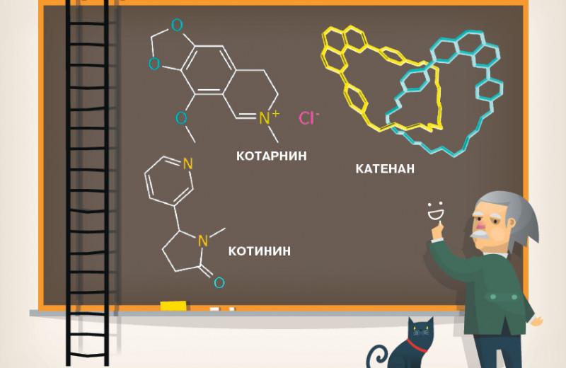 Вы молекулы называете? Нет, просто переводим...