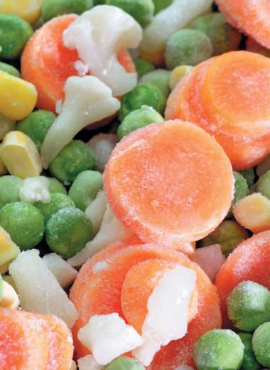 Овощи высокой степени готовности