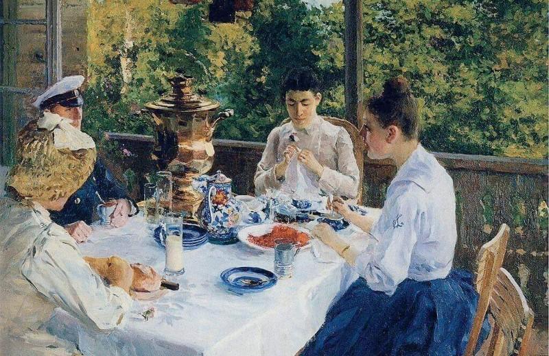 Чай по-менделеевски