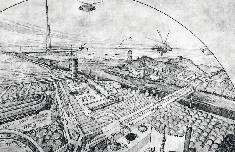 Фрэнк Ллойд Райт и Broadacre City: исход из города