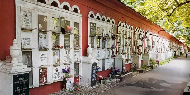 Колумбарий на новодевичьем кладбище — здесь похоронены палачи Лубянки