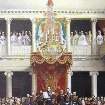Между царем и большевиками