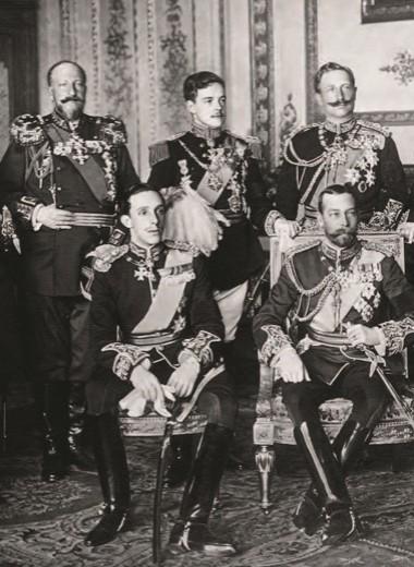 Девять монархов на похоронах Эдуарда VII