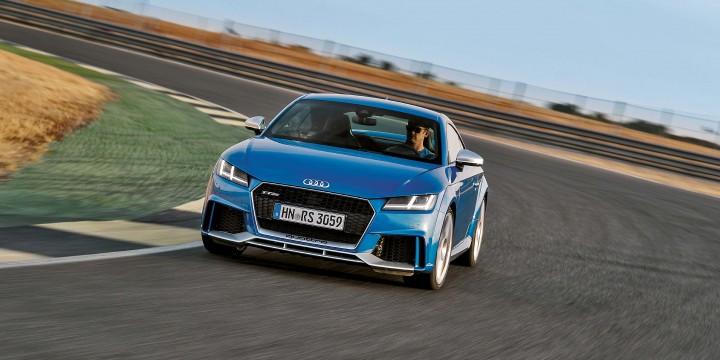 Audi TT RS:Кинолента