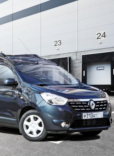 Renault Dokker:а поасфальтукаблучки