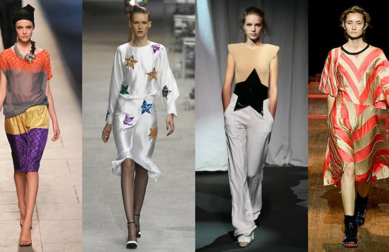 Оп- и поп-арт: Maison Martin Margiela SS07, Nina Donis SS07, Yves Saint Laurent SS08, Dries Van Noten SS09, Christian Dior SS13