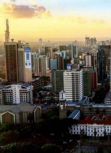Кругосветное путешествие Алексея Камерзанова. Кения