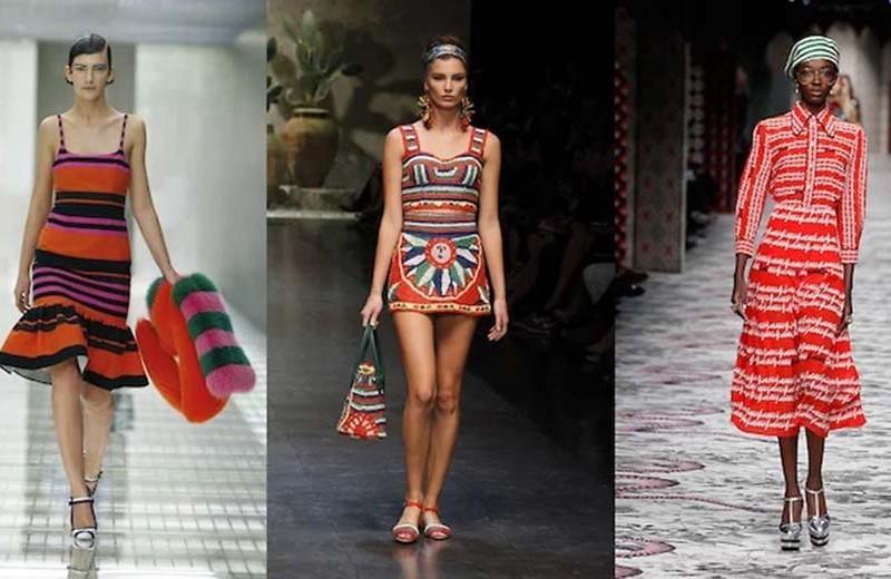 Итальянский извод кэмпа: Prada SS 11, Dolce & Gabbana SS 13, Gucci SS 16