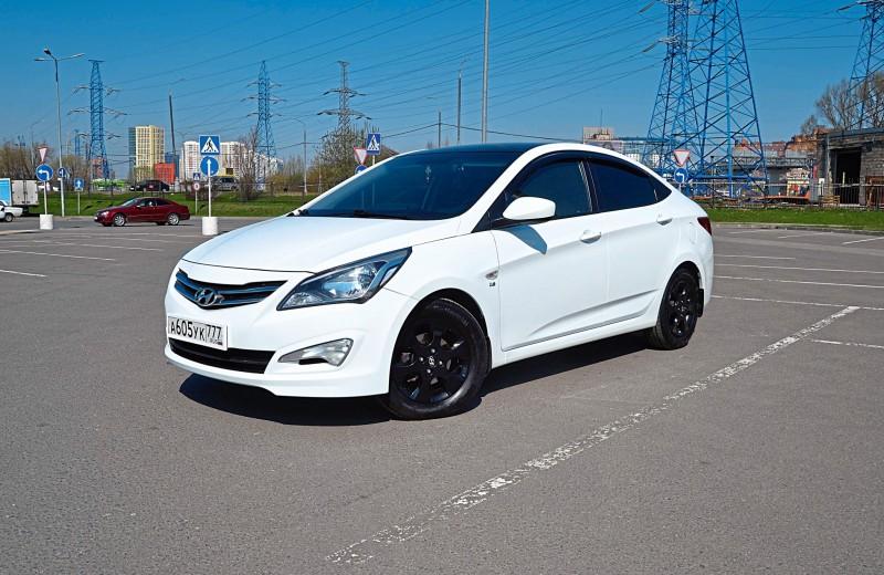 Hyundai Solaris: Народный любимец