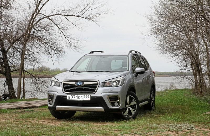 Subaru Forester: Едет на дальняк