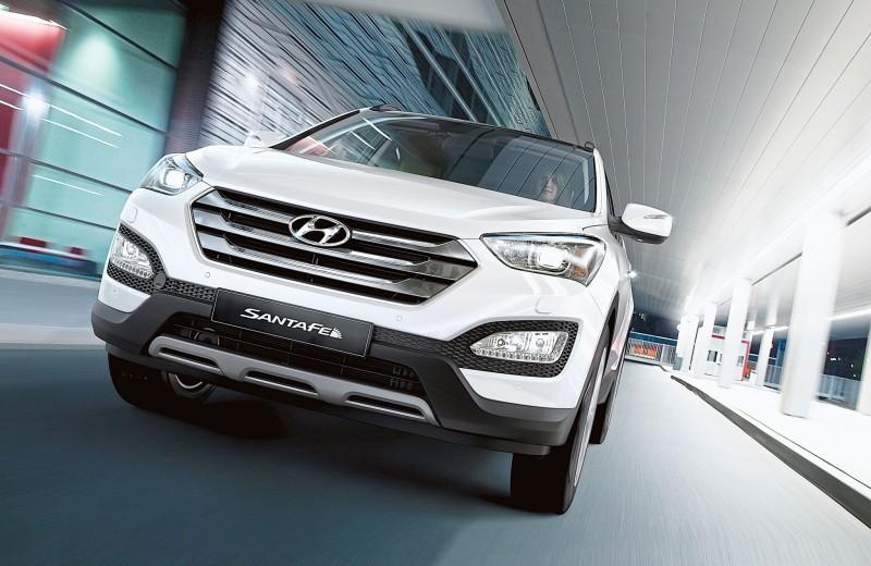 Hyundai Santa Fe: Подарки от санты