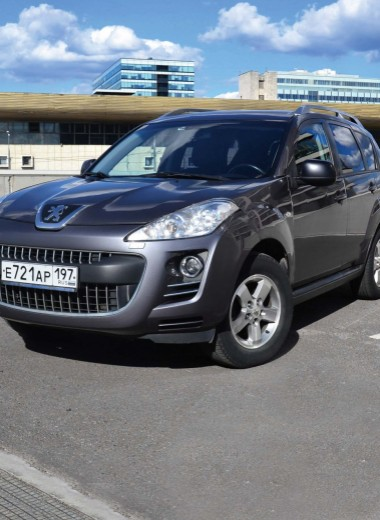 Peugeot 4007: ультрасемейные ценности