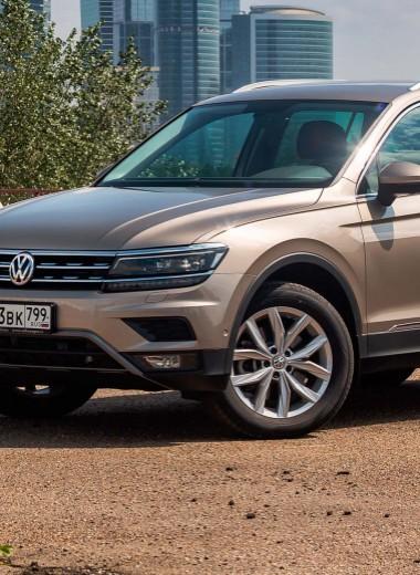 Volkswagen Tiguan: полный набор