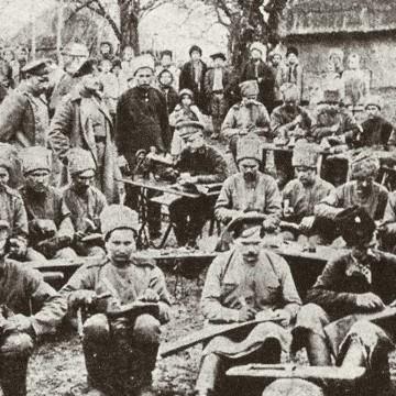 Огонекъв мае 1917-го