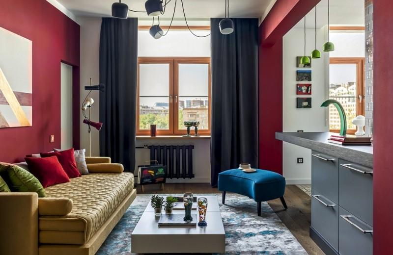 Яркая квартира в сталинском доме