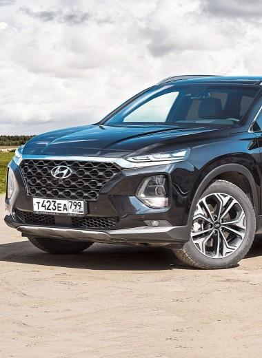 Hyundai Santa Fe: Точное попадание