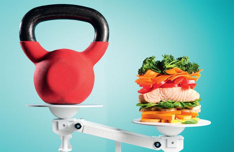 Тренировки против диеты
