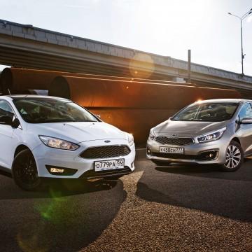 Kia cee'd – Ford Focus