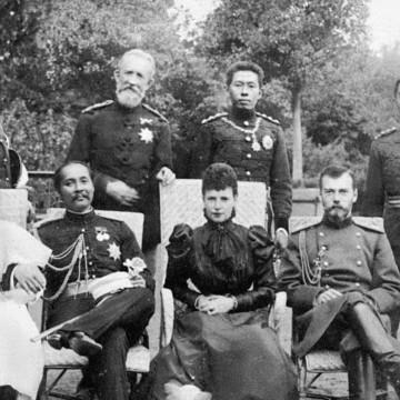 Рама V + Николай II