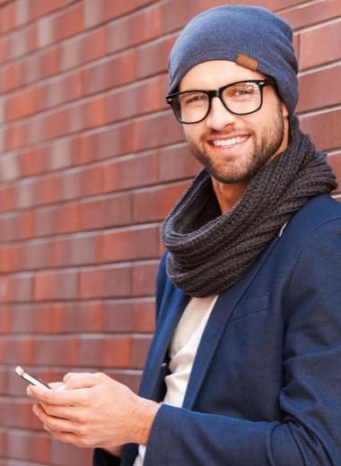 Он и его смартфон