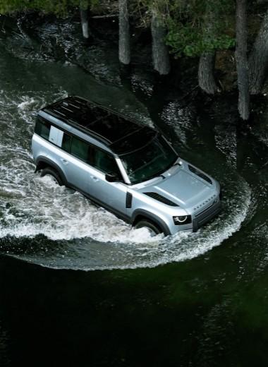 Land Rover Defender. Несущий против рамы