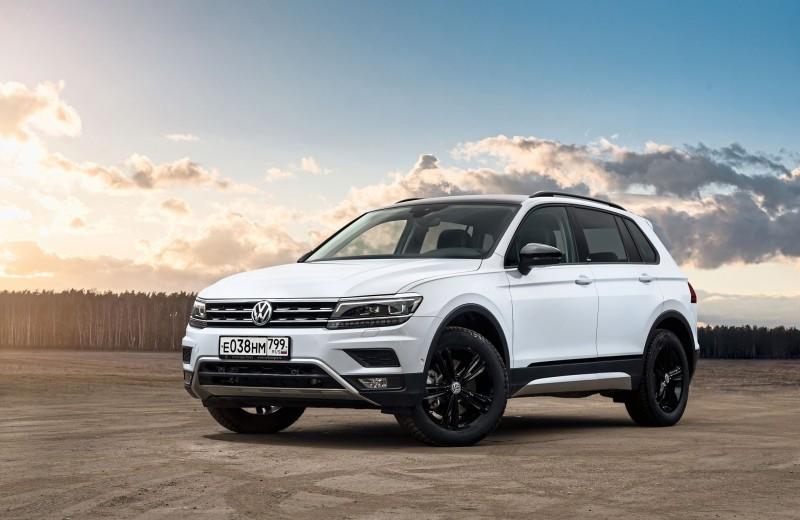 Volkswagen Tiguan Offroad: значимые детали