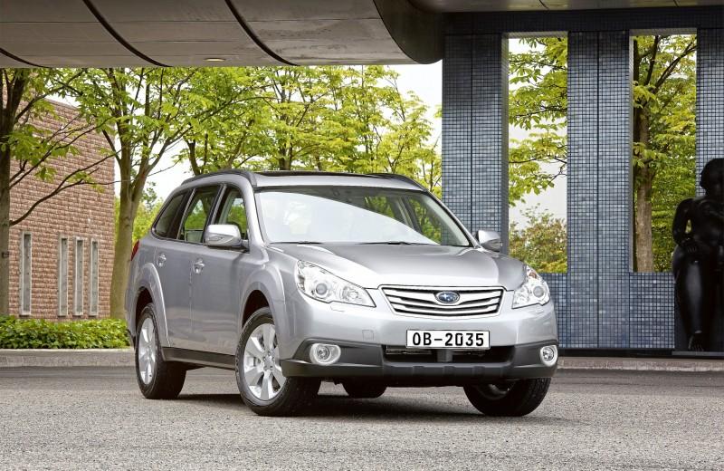 Subaru Outback IV: не подкопаешься