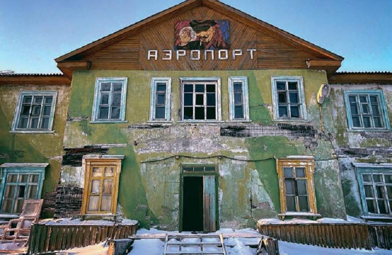Точка на карте: Диксон, Россия