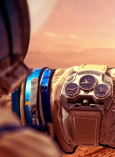 Часы марсианского тракториста