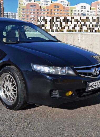 Honda Accord: Черная жемчужина