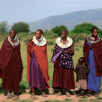 Танзания: проснуться всаванне