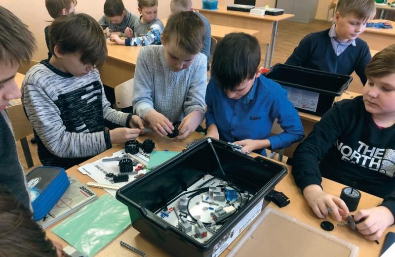 Роботизация школы