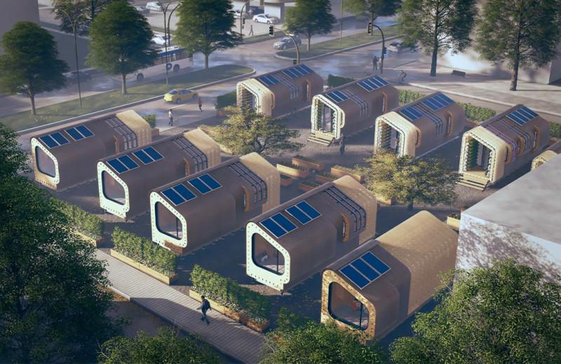 Shifting Nests – доступное жилье для миллениалов