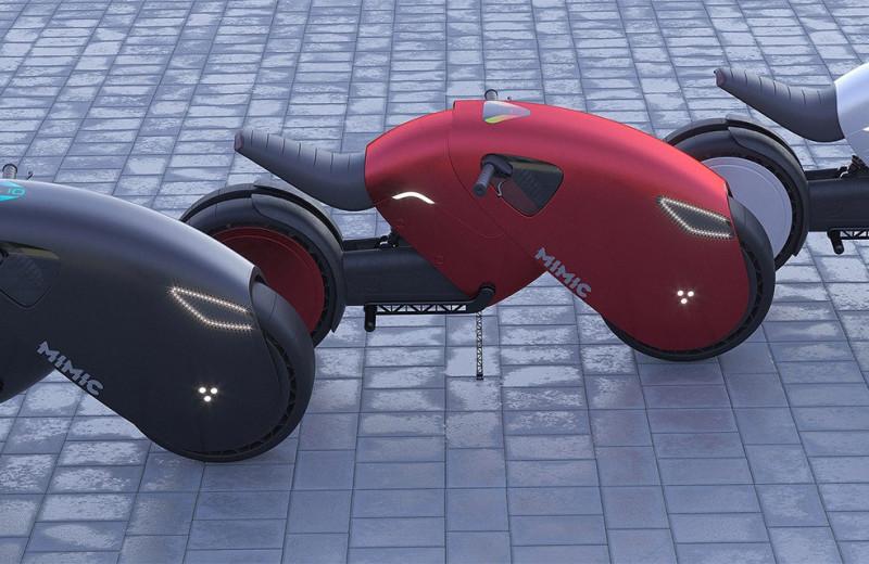 MIMIC – если бы у Черной Пантеры был мотоцикл