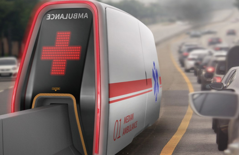 Median AMB – капсула скорой помощи для автомагистралей