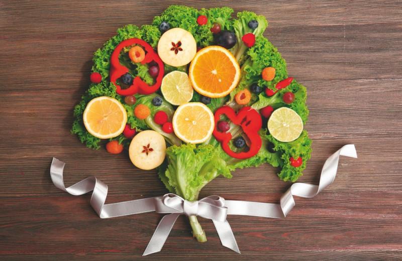 Время полюбить овощи и фрукты