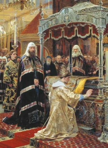 Никон: крестьянин, патриарх, монах