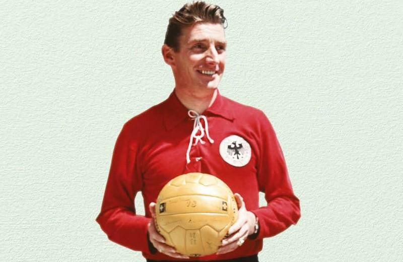 Кожаный мяч Фрица Вальтера