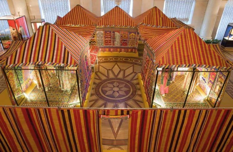 Большая бухарская палатка