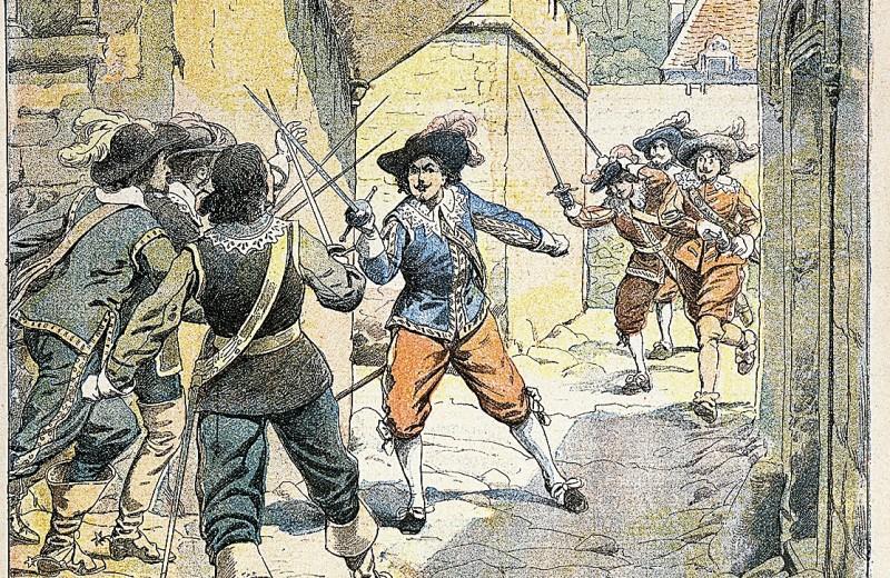 175 лет назад... Вышел в свет роман «Три мушкетера»