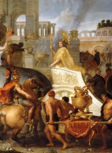 Вступление Александра Македонского в Вавилон