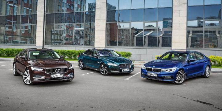 Volvo S90 – Jaguar XF – BMW 530d